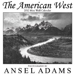Ansel adams 2012 wall calendar nature photography for Ansel adams mural project 1941