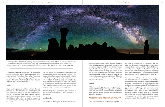 sample from Grant Collier's night photography book