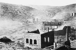 Central City after fire of 1874