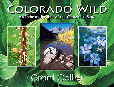 Colorado Wild, nature photography book, paperback