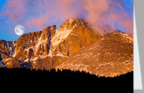 Longs Peak, Colorado greeting card