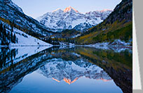 Maroon Bells Birthday Card