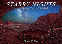 Starry Nights 2018 Wall Calendar